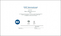NSF-61 Certification