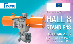 Pekos Valves at the Achema'18